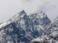 The Tetons in Early Winter