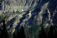 Mountain Cliffs Above Jay Creek